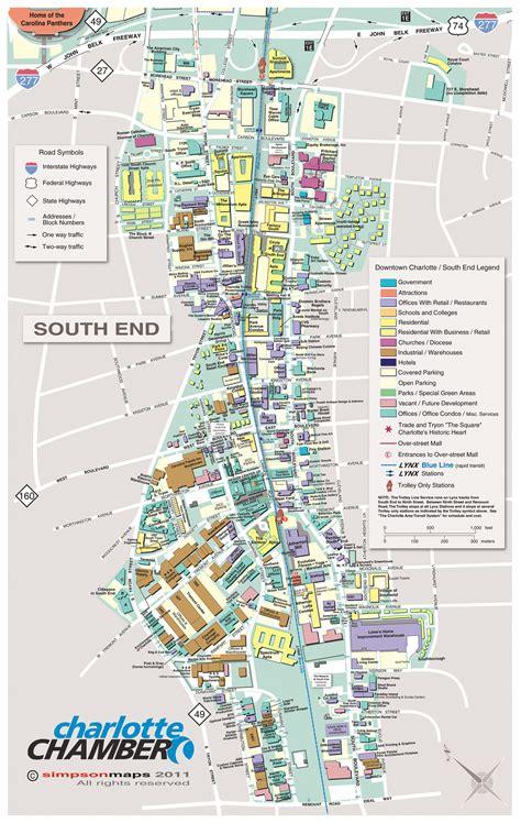 south nc maps charlottechamber com