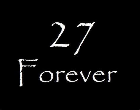 Superstition And History Behind The Forever 27 Club