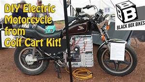 Diy Electric Motorcycle From Golf Cart Parts  U2013 Electric