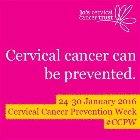 cervical cancer prevention week national awareness days