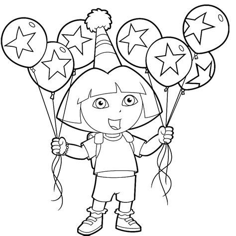 Kleurplaat Met Ballonnen by Leuk Voor Met Ballonnen
