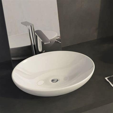 encimera y lavabo comprar lavabo sobre encimera ovalo al mejor precio online