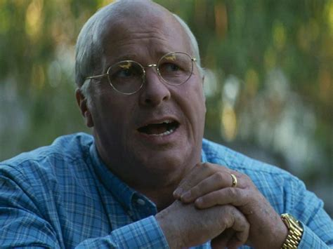 Christian Bale Dick Cheney Prosthetics Had Pass The