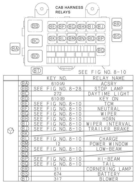 Isuzu W4500 Wiring Backup Light by Isuzu Fuse Diagram Auto Electrical Wiring Diagram