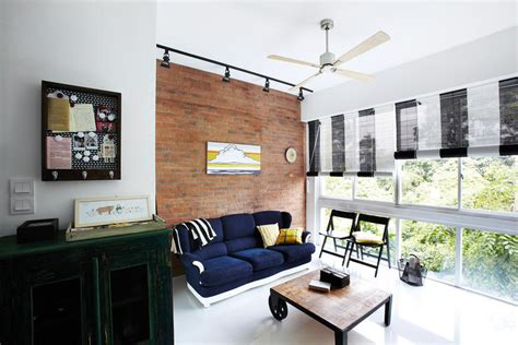 Blinds For Bedroom Singapore by 5 Contemporary Homes With Blinds Instead Of Curtains