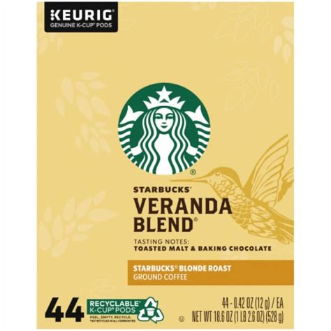 Expertly roasted lighter with a smooth profile, starbucks true north blend® mingles beautifully with milk and sugar. Food 4 Less - Starbucks Veranda Blend Blonde Roast K-Cup Coffee Pods, 44 ct