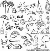Vacation Coloring Colorpagesformom Adult Coloringpages sketch template