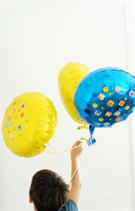graduation sticker balloon decorations  subtle revelry