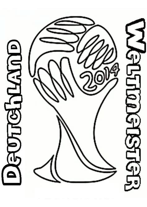 zeichnung trophy deutschland weltmeister brasil