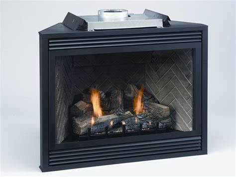 ventless fireplace insert ethanol empire tahoe premium direct vent propane rf fireplace with