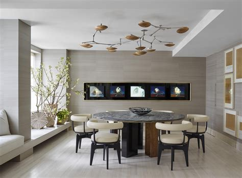 20 choices of modern wall for dining room wall