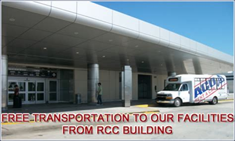 Rental Car Shuttle To Of Miami by Rent A Car Car Rental Miami International Airport