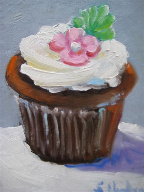 cup cake painting  susan jenkins