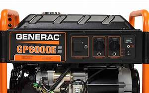 Generac Gp Series 6000e Portable Generator  U2013 Cn Computers And Energy Solutions Ltd