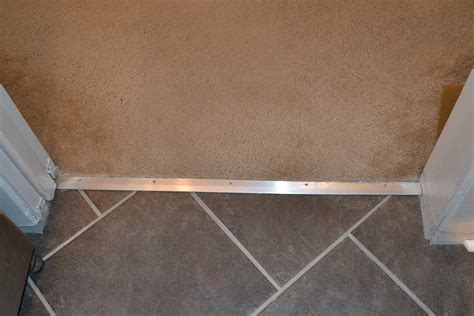 Wood To Tile Metal Transition Strips floor threshold transitions metal gurus floor