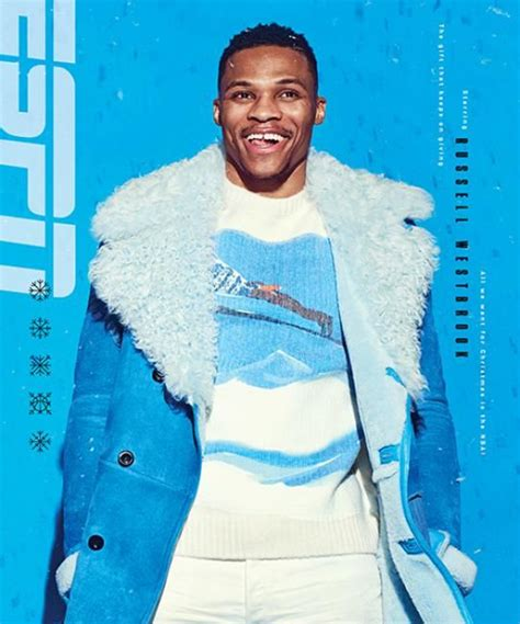 Russell Westbrook Espn Usa In Your Face Azul