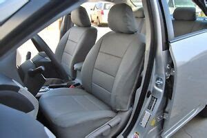 toyota corolla   iggee sleather custom seat cover