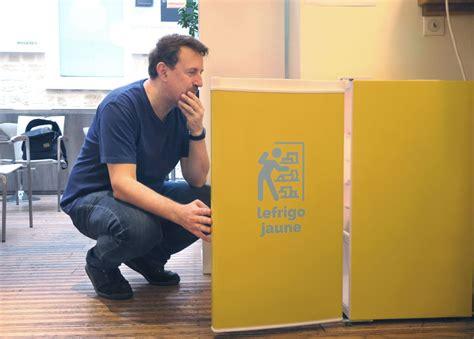 le bureau jaune le frigo jaune le geste anti gaspi au bureau out of