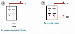 How To Wire 4 Pin Led Switch