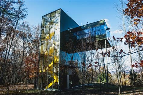 modern house design tower house  thomas gluck