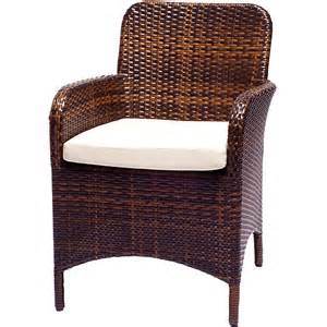 wicker dining chairs with cushions set of 2 patio