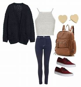 Cute casual outfit for school | outfits for teens | Pinterest | School Polyvore and Clothes