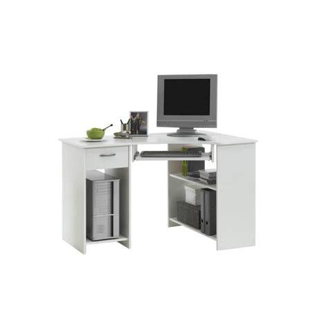 bureaux d angle felix bureau d 39 angle 77 cm blanc achat vente bureau