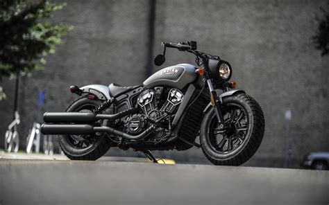 Indian Scout Sixty 4k Wallpapers by Wallpapers Indian Scout Bobber 2018 Thunder