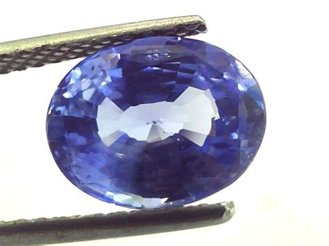 4 44 ct unheated untreated natural burma blue sapphire sold gems