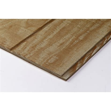pine plywood lowes shop pine siding shiplap plywood 19 32 cat ps1 09 common 5 8 x 4 ft x 8 ft actual 578 in x