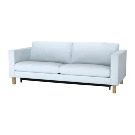Futon Chair And Ottoman Covers by Ikea Karlstad Sofa Bed Slipcover Sofabed Cover Sivik Light