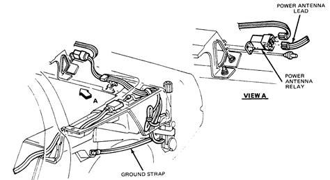 Corvette Bypass Radio Electric Antenna Motor Wont
