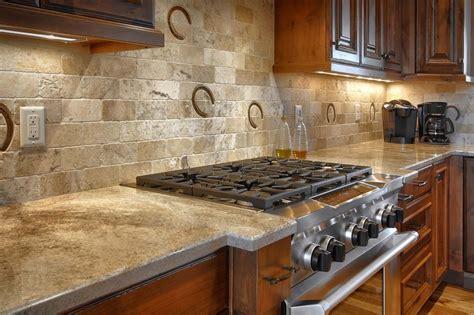 ideas rustic kitchen backsplash home inspiration