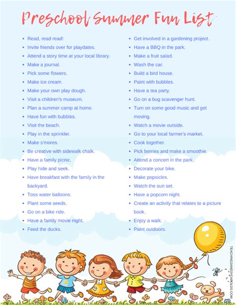 summer preschool ideas 46 preschool summer activities you will want to try 498