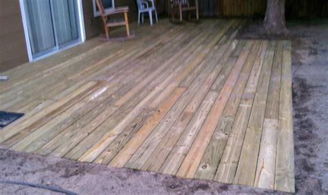 home repair handyman orlando fl ground level deck