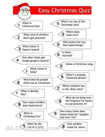 Easy Printable Quiz Easy Trivia Questions3  Uma Printable