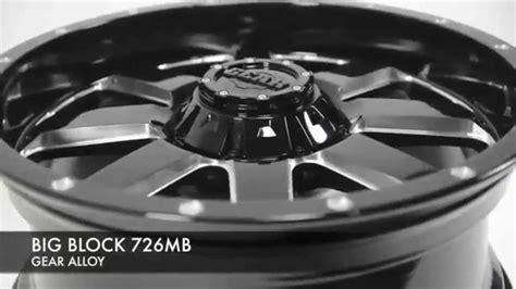 gear alloy 726mb big block wheels