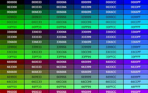 color codes css css color css color codes list