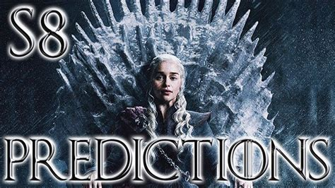 season top predictions game thrones game