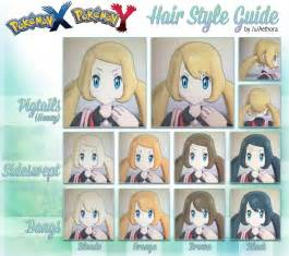 HD wallpapers pokemon x and y hair change