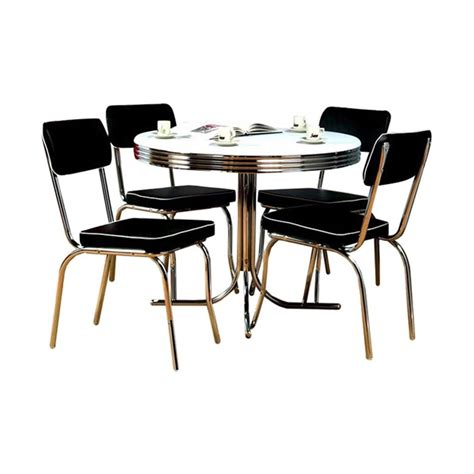 restaurant kitchen furniture shop tms furniture retro black dining set with