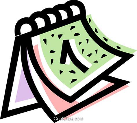 clipart calendario calendario libres de derechos ilustraciones de vectores