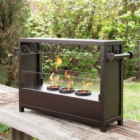 portable indoor fireplace upton home bryden portable indoor outdoor fireplace