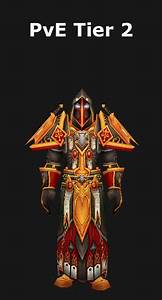 Transmogrification Paladin Pve Tier 2 Set  Wod 6 2