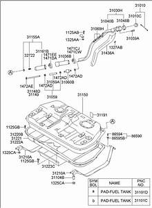 3101028500 - Hyundai Cap Assembly