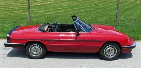 1986 Alfa Romeo by 1986 Alfa Romeo Spider Connors Motorcar Company