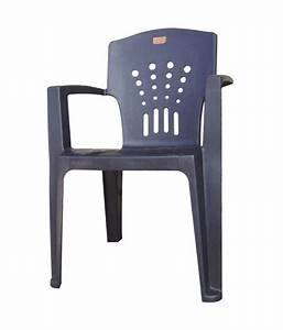 Nilkanth poly plast gray plastic living room chairs buy for Plastic furniture for living room