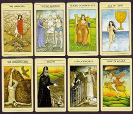 the mythic tarot deck