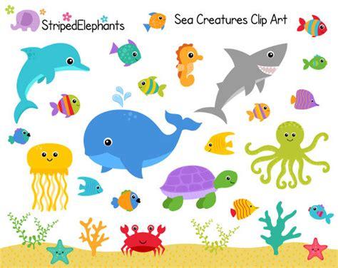 sea creatures clipart sea creatures clip the sea clipart animals