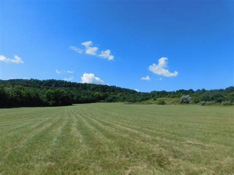 picture blue sky landscape countryside grass field nature agriculture